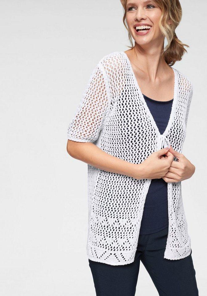 new styles ce518 795b9 Cheer Strickjacke sommerliche Lochstrick-Ware - NEUE KOLLEKTION online  kaufen | OTTO