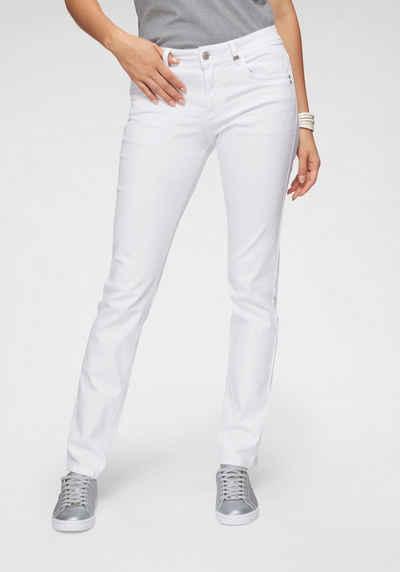 c4f80e358370 s.Oliver RED LABEL Slim-fit-Jeans mit verdecktem Reißverschluss