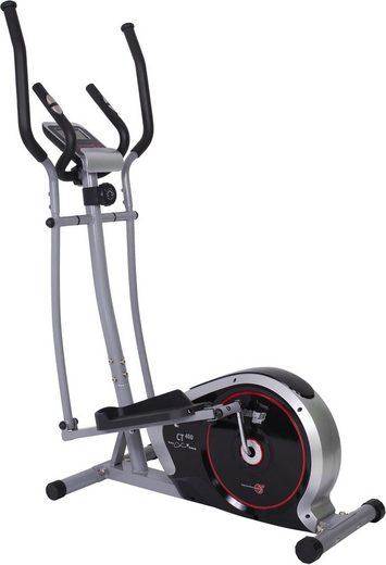Christopeit Sport® Crosstrainer »CT 400«, Computer mit Tablet- und Smartphonehalterung