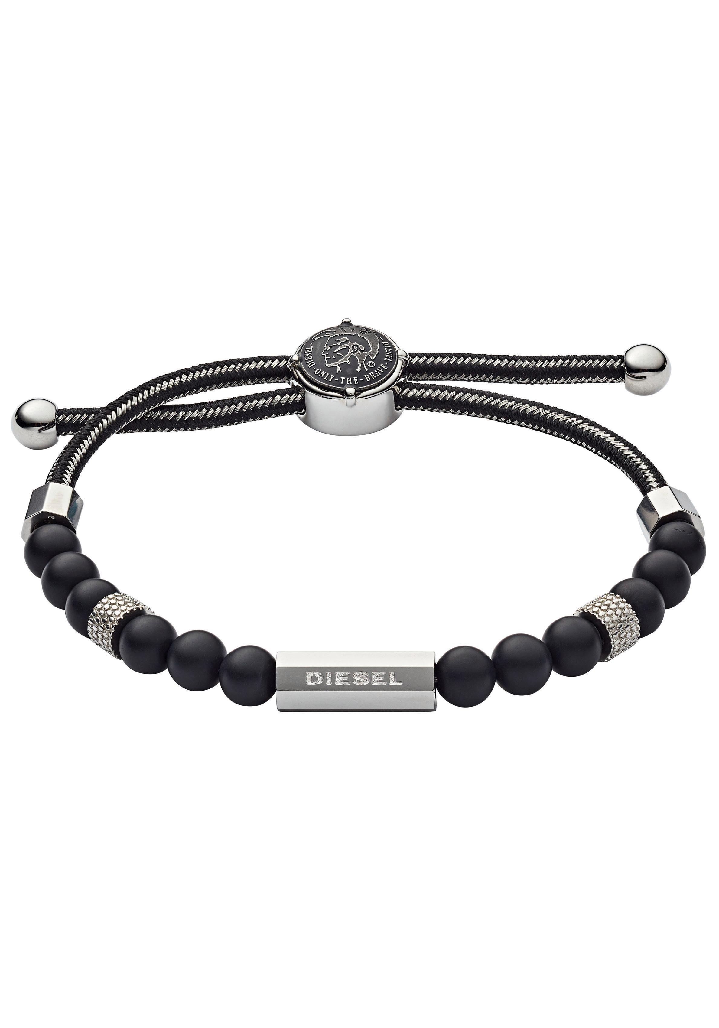 Diesel Armband »BEADS, DX1151040« mit Achaten