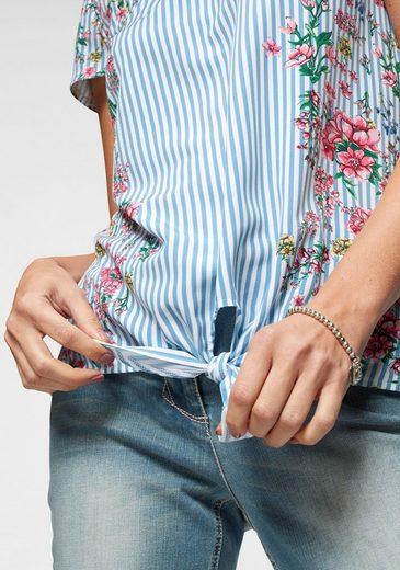 Neue Kollektion Zum Shirtbluse Knoten Cheer Swtax