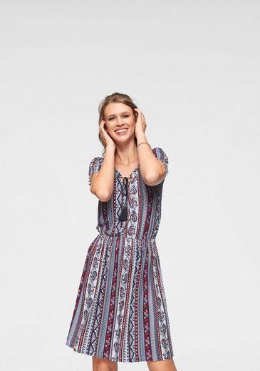 Cheer Sommerkleid mit Smok-Einsätzen - NEUE KOLLEKTION
