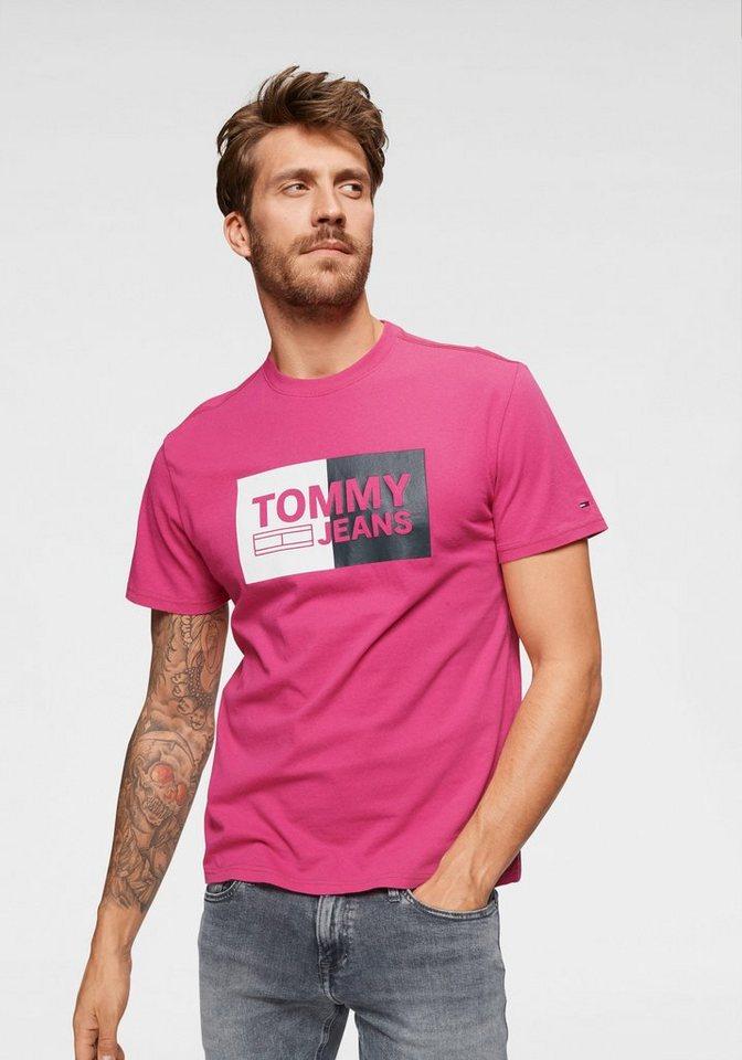 Herren TOMMY JEANS T-Shirt »TJM ESSENTIAL BOX TEE« braun, grün, rosa, rot   08719857538117