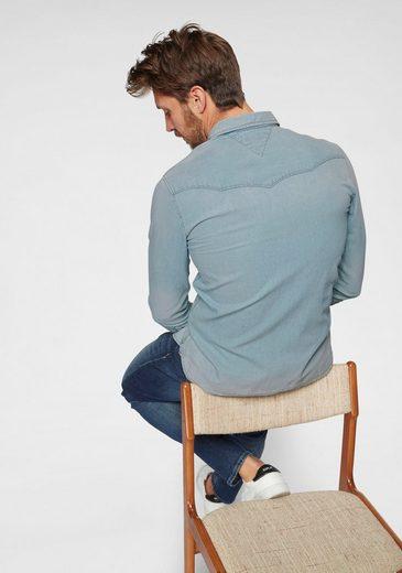 Denim Jeanshemd »western Jeans Tommy Shirt Arnlb« qf5tEvw