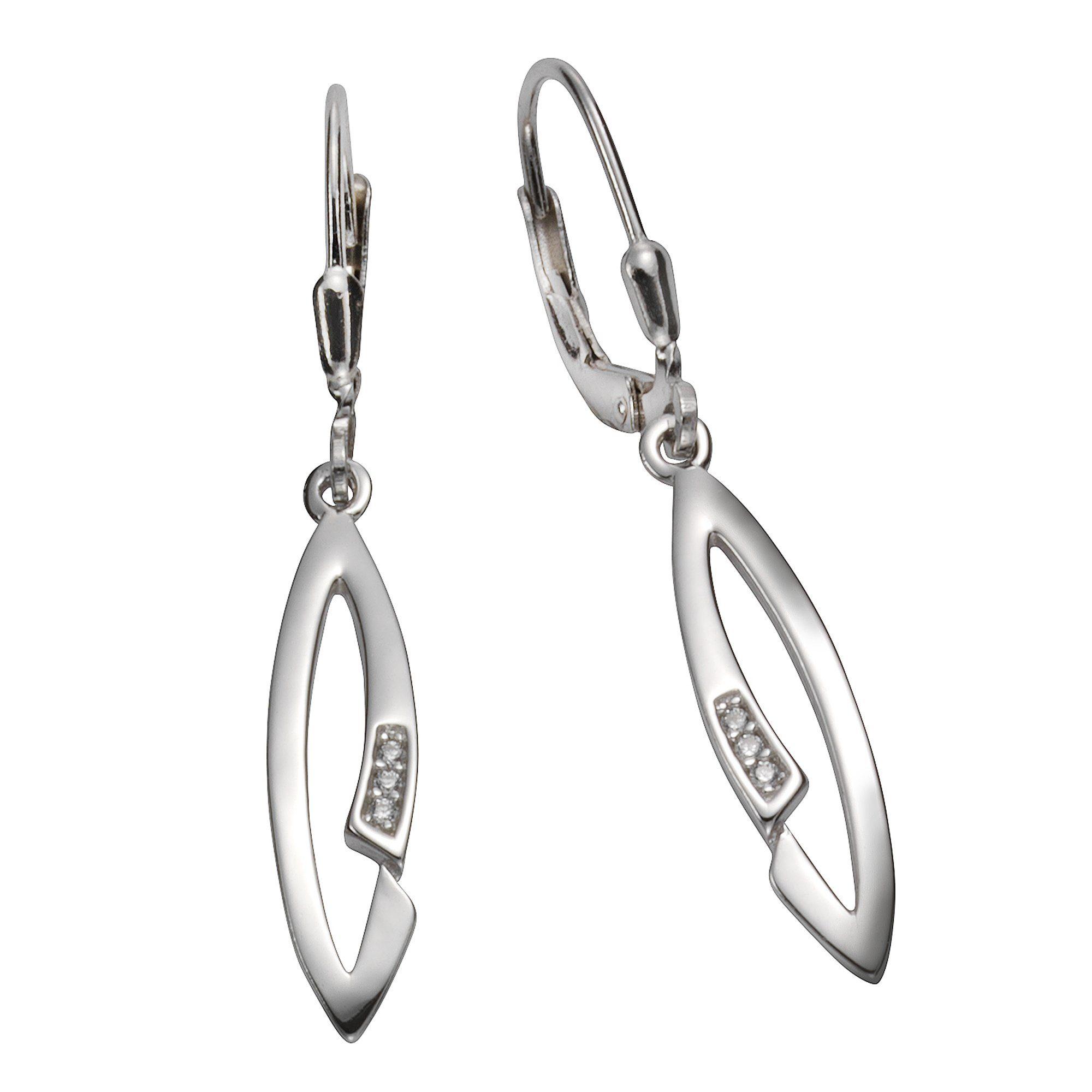 Vivance Silber »925Sterling Irkonia« Ohrhänger Silber Vivance »925Sterling Ohrhänger gyY67bf