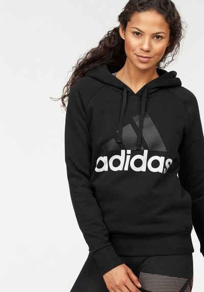 adidas Performance Kapuzensweatshirt »ESSENTIAL LINEAR OH FLEECE« 4dbf9bdd40