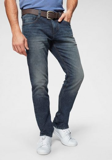 TOM TAILOR 5-Pocket-Jeans »Josh« in used-Waschung