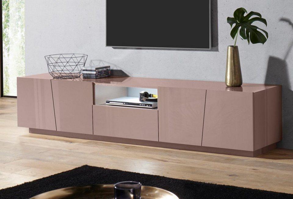 tecnos lowboard vega breite 220 cm kaufen otto. Black Bedroom Furniture Sets. Home Design Ideas