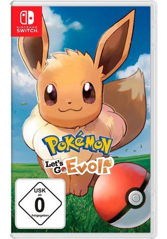 NINTENDO SWITCH Pokémon: Let's Go Evoli!