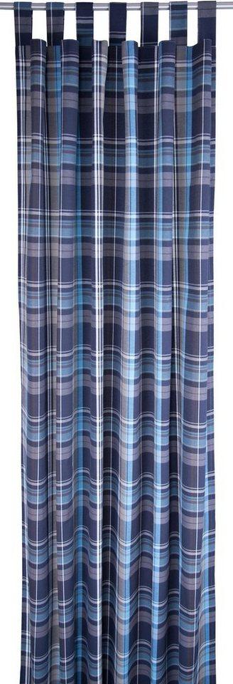 vorhang new check tom tailor schlaufen 1 st ck. Black Bedroom Furniture Sets. Home Design Ideas