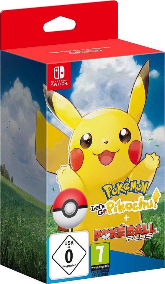 Pokémon Let S Go Pikachu Pokéball Plus Nintendo Switch Online