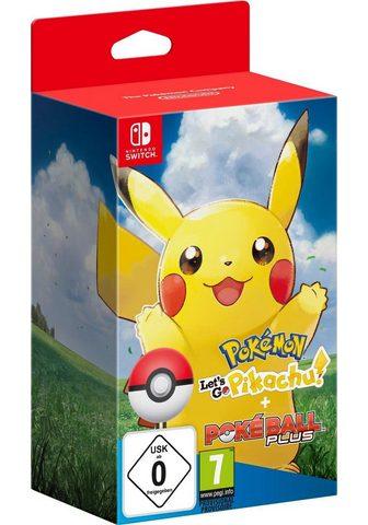 NINTENDO SWITCH Pokémon: Let?s Go Pikachu! + Po...