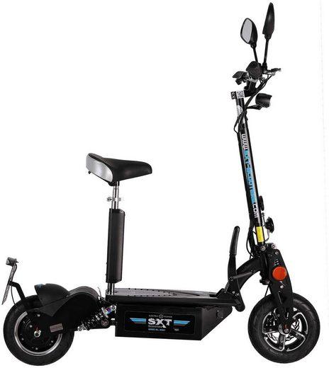 SXT Scooters E-Scooter »SXT 1000 XL EEC«, 1350 W, 40 km/h, Facelift, Bleiakku 48V 12Ah