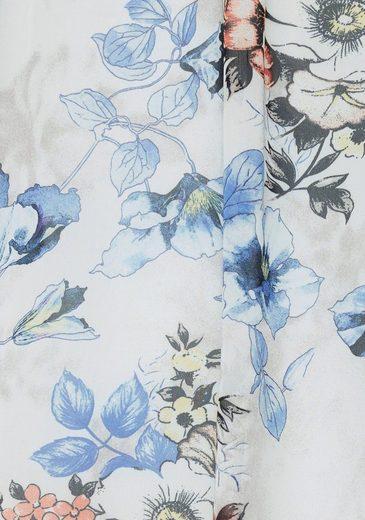Allveroverprint In Vivance neue A Mit form Kollektion linien Floralem Chiffonkleid 1q45qw0