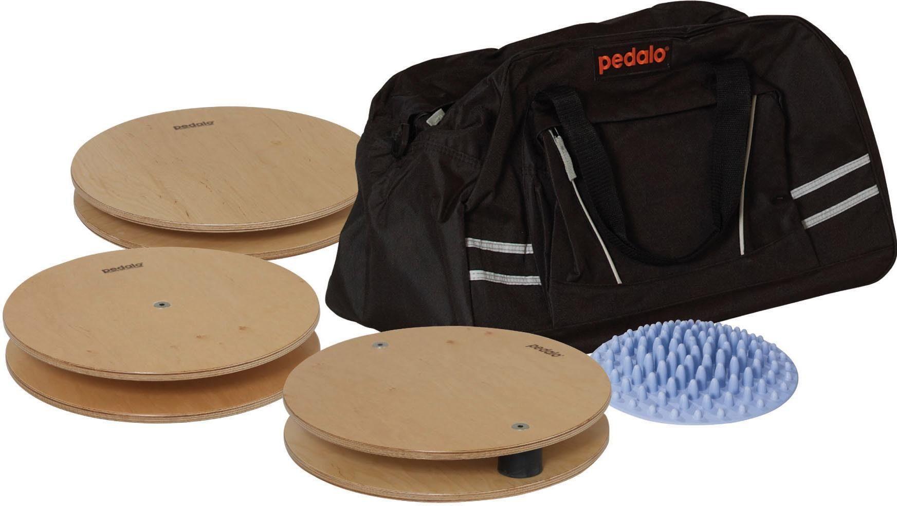 pedalo® Balanceboard, 4 verschiedene Trainingsgeräte mit Tragetasche