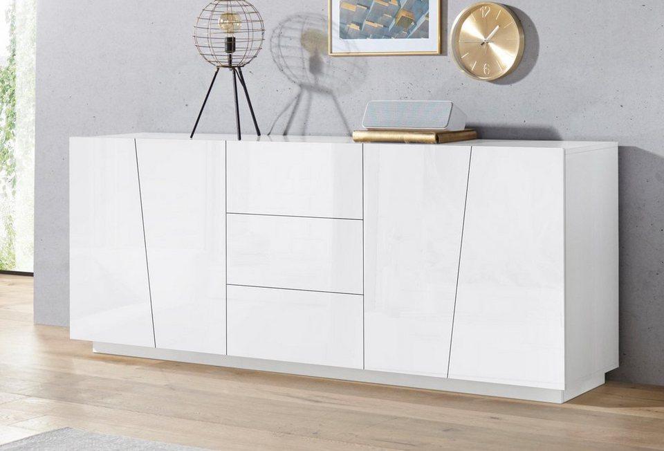 tecnos sideboard vega breite 220 cm kaufen otto. Black Bedroom Furniture Sets. Home Design Ideas