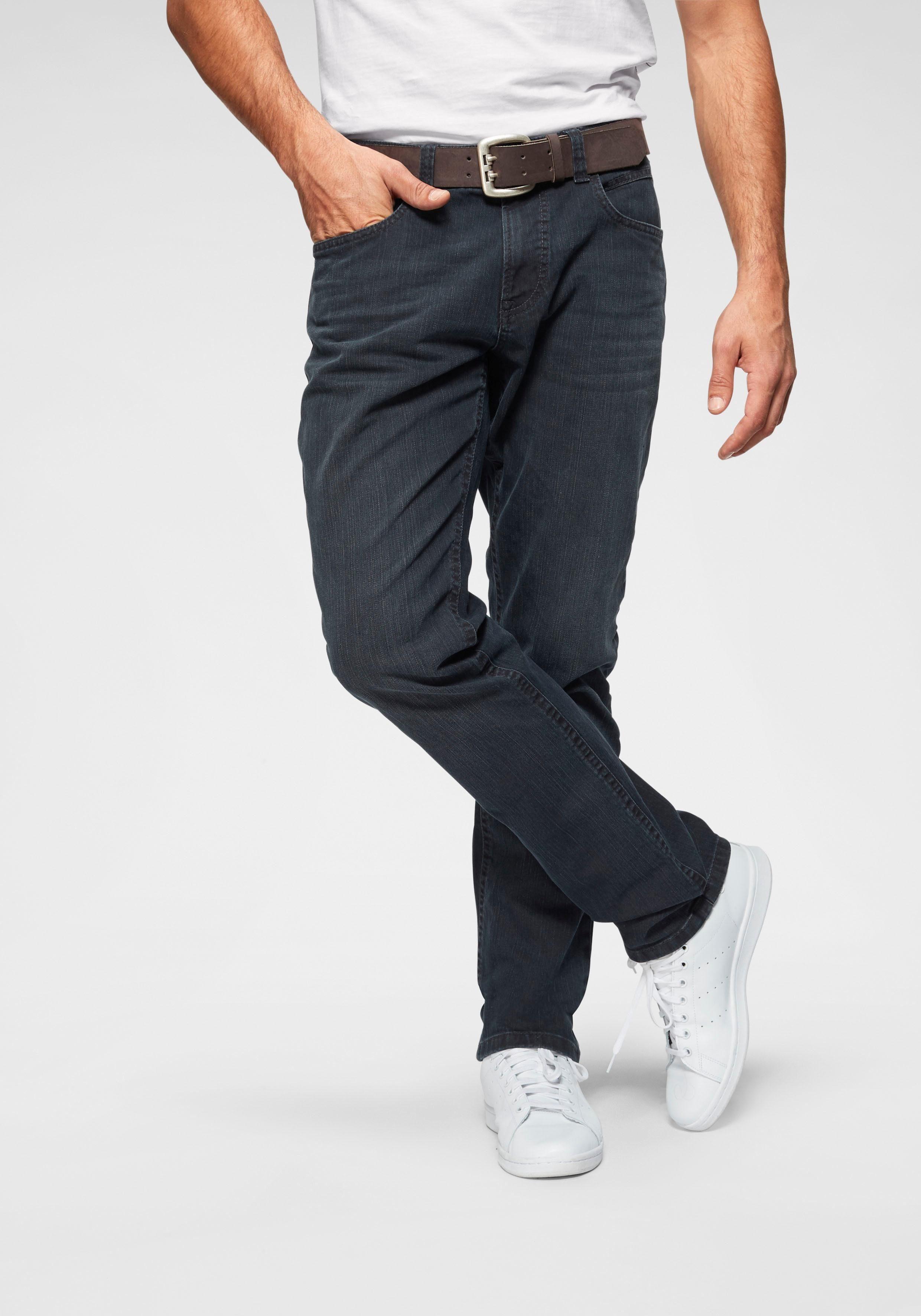 camel active Straight Jeans »HOUSTON«, Nahezu knitterfreie Qualität online kaufen | OTTO