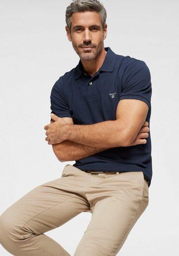 Gant Poloshirt mit kleinem Marken-Logo