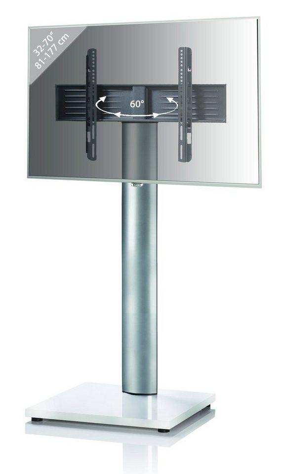 VCM TV-Standfuß ´´Onu Mini Weißlack´´ | Wohnzimmer > TV-HiFi-Möbel > Ständer & Standfüße | Schwarz | VCM