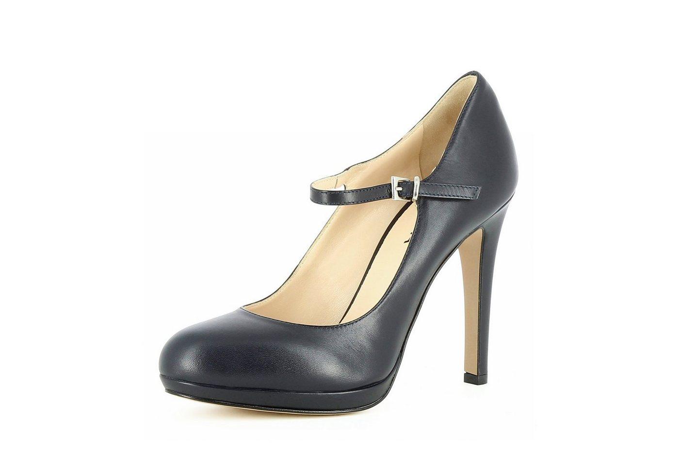 Evita »CRISTINA« Plateaupumps | Schuhe > Pumps > Plateaupumps | Blau | Evita