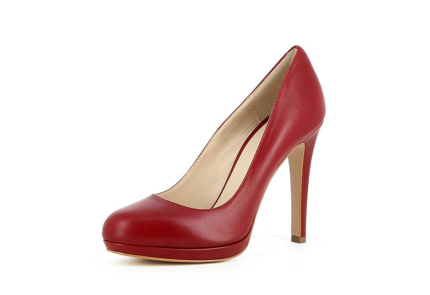 Evita »CRISTINA« Plateaupumps   Schuhe > Pumps > Plateaupumps   Rot   Evita