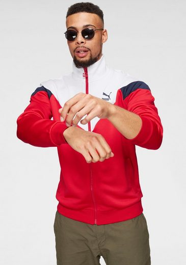 PUMA Trainingsjacke »ICONIC MCS TRACK JACKET«