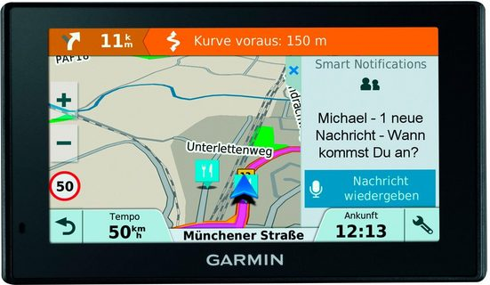 Garmin »Garmin DriveSmart™ 5 MT-D, ARD« Navigationsgerät (Europa (46 Länder), inklusive lebenslanger Kartenupdates)