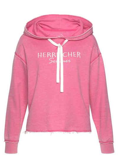 Herrlicher Kapuzensweatshirt »WINONA« acid-washed-Effekt 7415ff415e