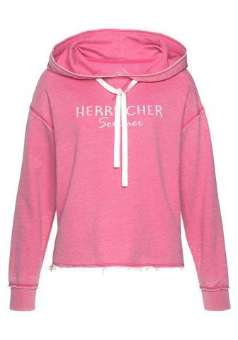 HERRLICHER Sportinis megztinis su gobtuvu »WINONA...