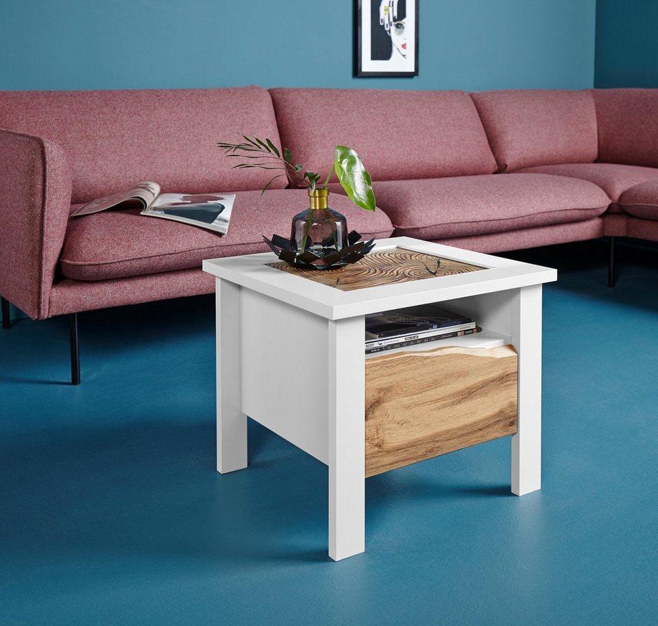 inosign couchtisch heike mit glaseinsatz in 2 breiten online kaufen otto. Black Bedroom Furniture Sets. Home Design Ideas