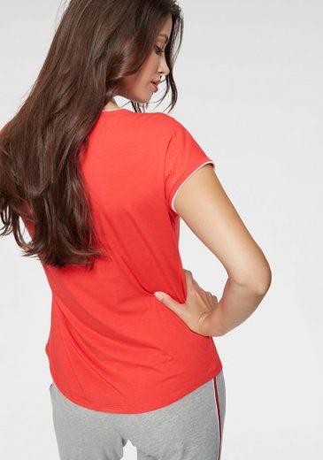 Rundhalsausschnitt Shirt Mit Marc Red O'polo erdCoxB