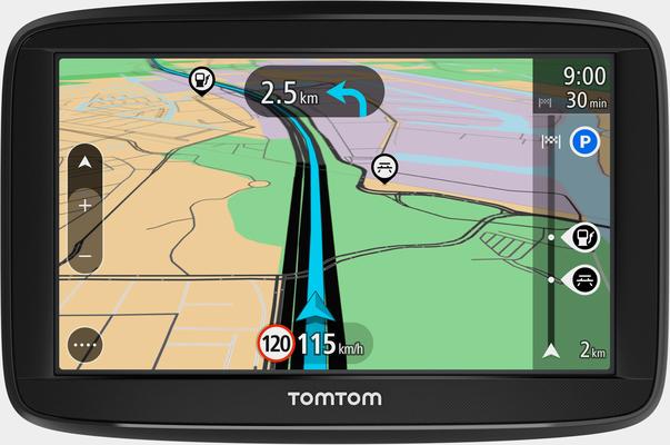 TomTom »Start 52 EU T« Navigationsgerät (Europa (45 Länder), inklusive lebenslanger Kartenupdates)