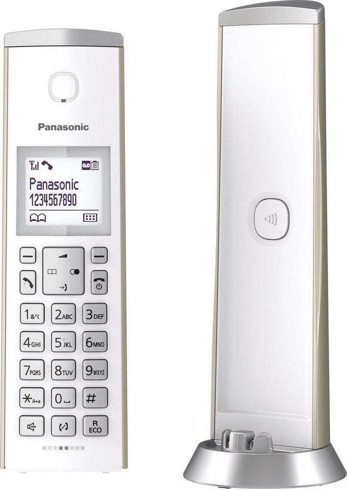 panasonic kx tgk220 schnurloses dect telefon. Black Bedroom Furniture Sets. Home Design Ideas
