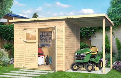 Gartenhaus Mit Fußboden Günstig ~ Gartenhaus 4x4m 5x3m & 5x4m online kaufen otto