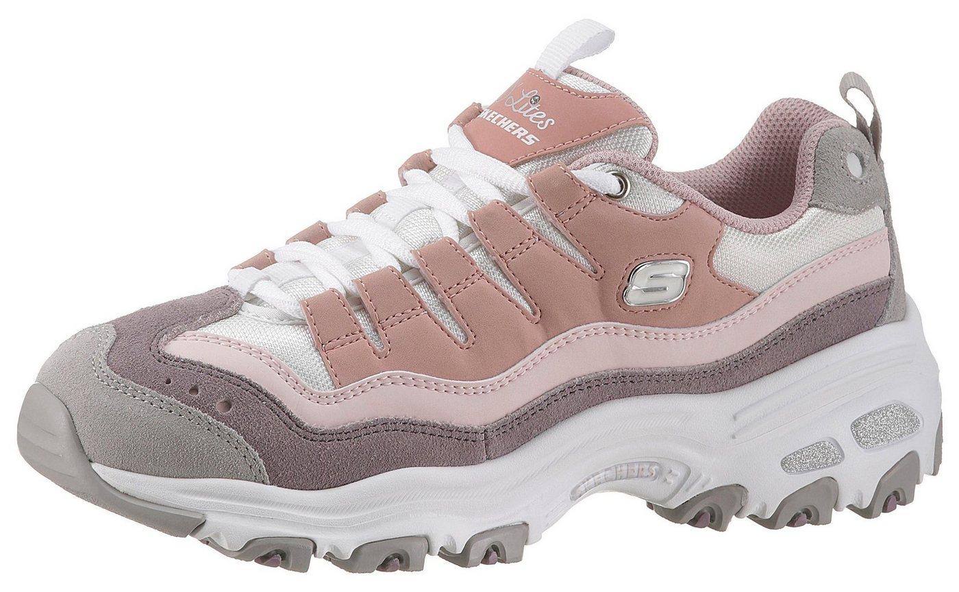 Skechers »D´Lites - Sure Thing« Sneaker mit hochgezogener Zehenkappe