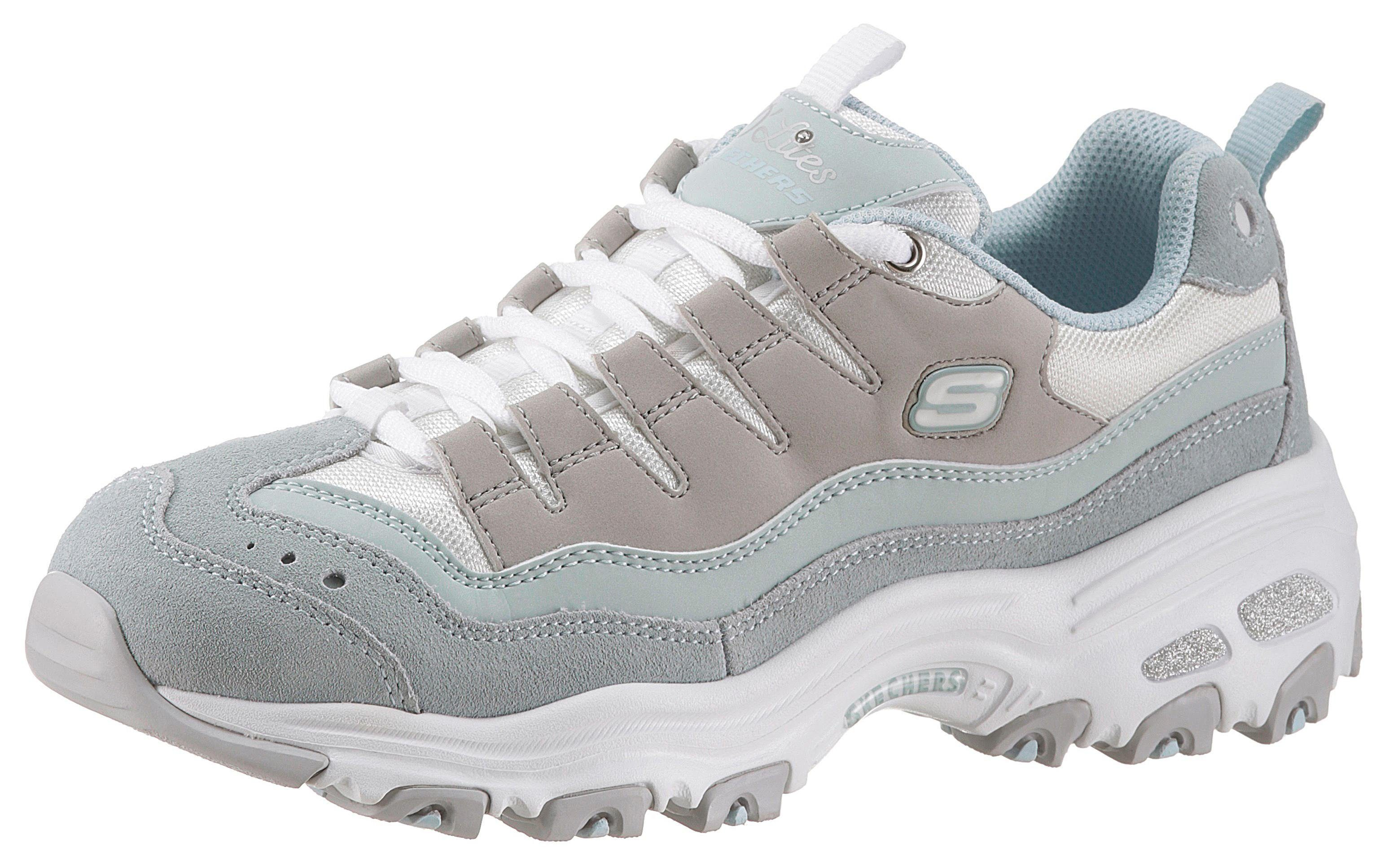 Skechers »D´Lites Sure Thing« Sneaker mit hochgezogener Zehenkappe online kaufen | OTTO