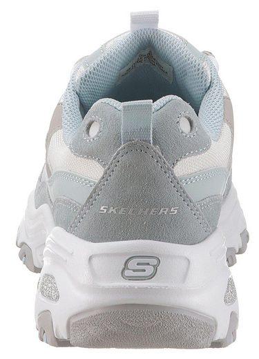 Sure Hochgezogener Skechers Zehenkappe »d´lites Mit Thing« Sneaker 4qx5Ha5pw