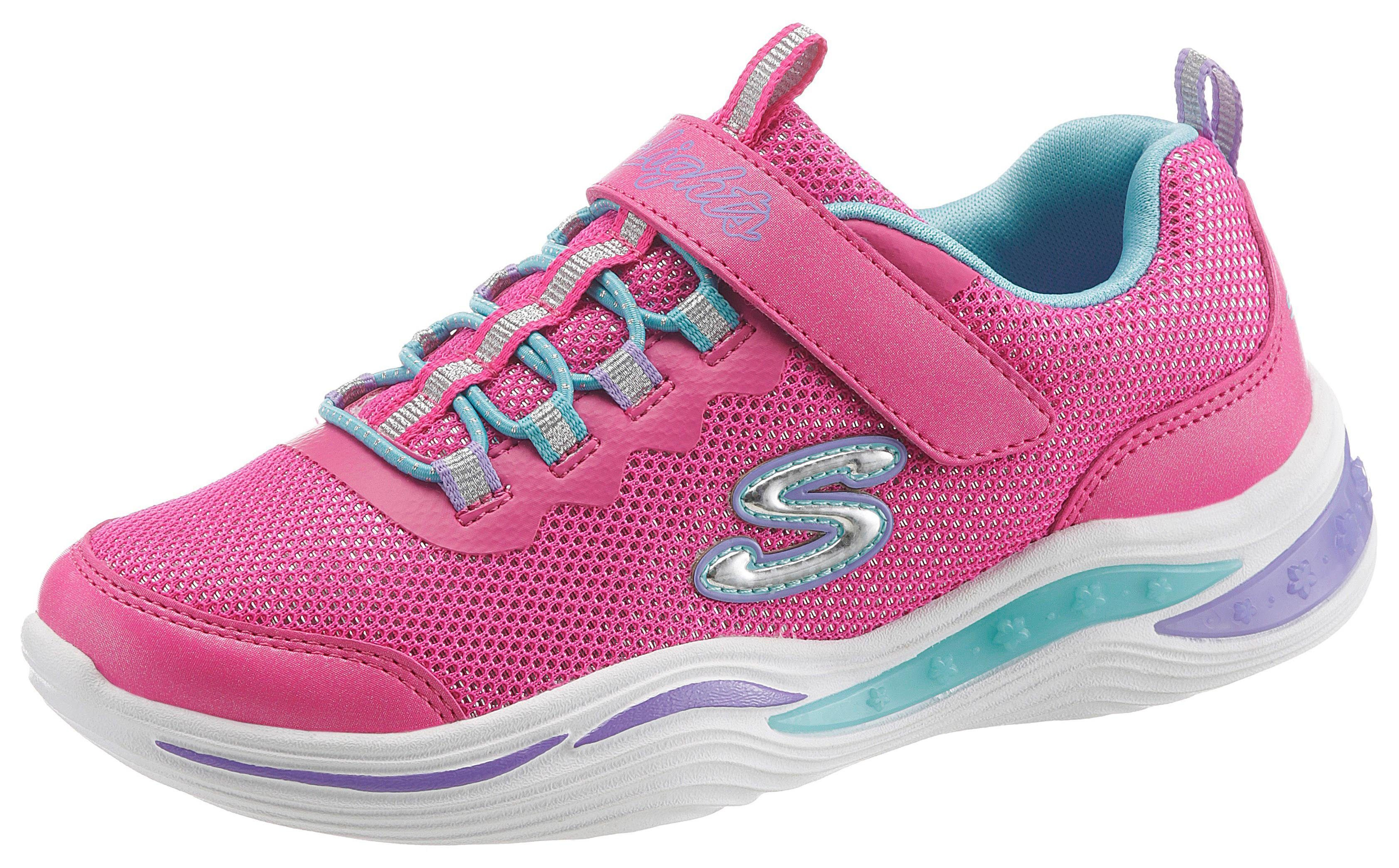 Skechers Kids »Blinkschuh Power Petals« Sneaker mit Glitzer
