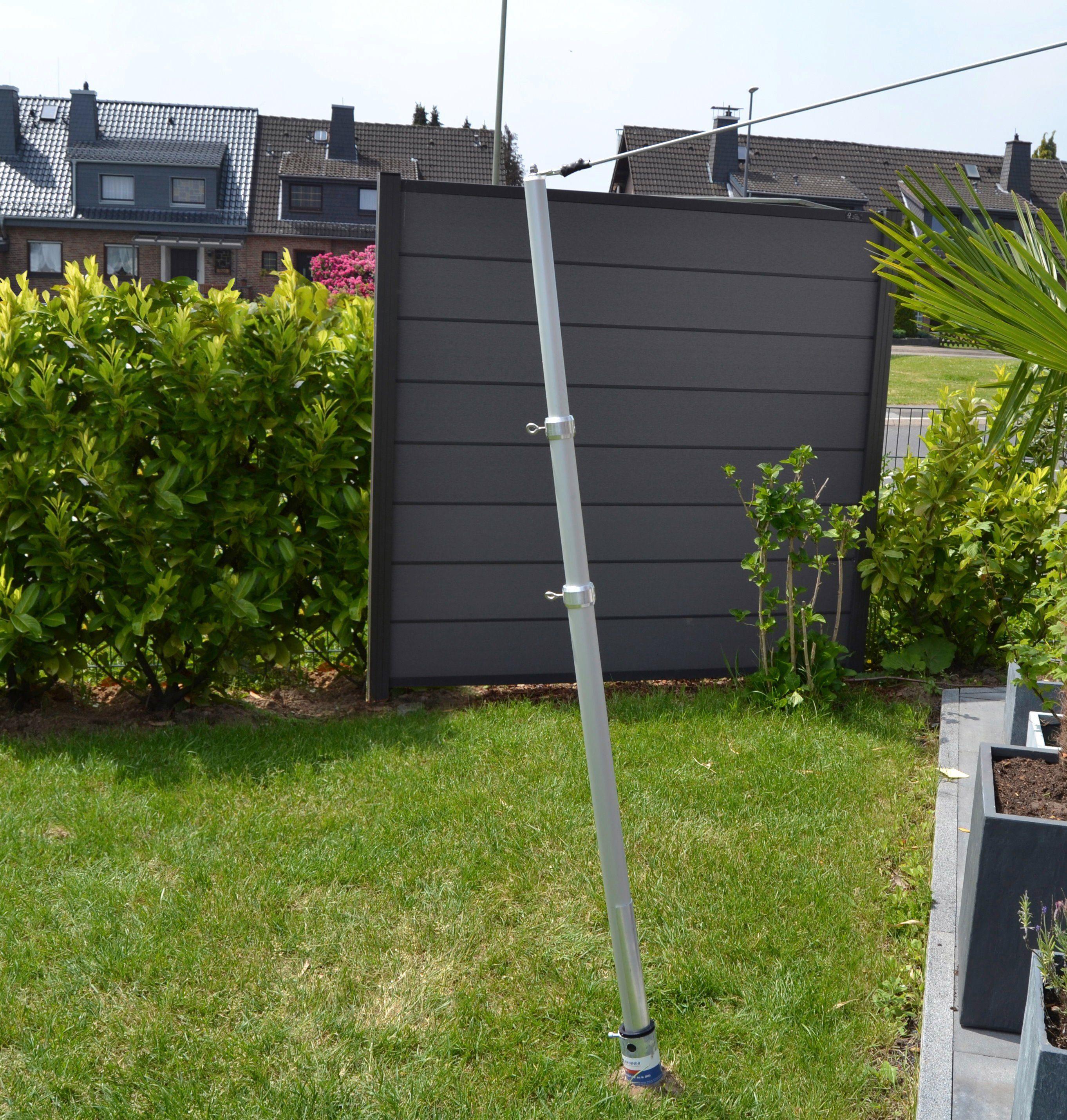 FLORACORD Mast »Alu«, für Sonnensegel bis 25 m²