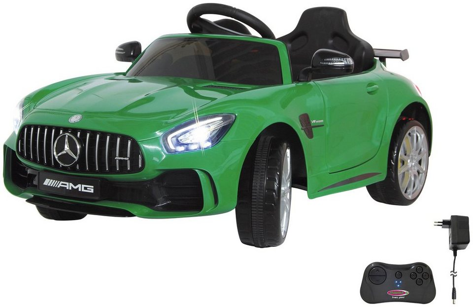 jamara elektroauto mercedes amg gtr f r kinder ab 3. Black Bedroom Furniture Sets. Home Design Ideas