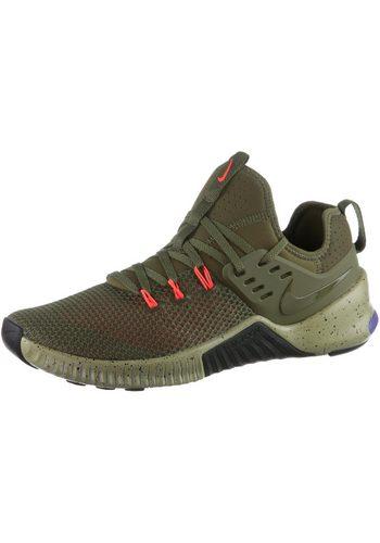 Herren Nike Metcon Free Fitnessschuh grün | 00191887590736