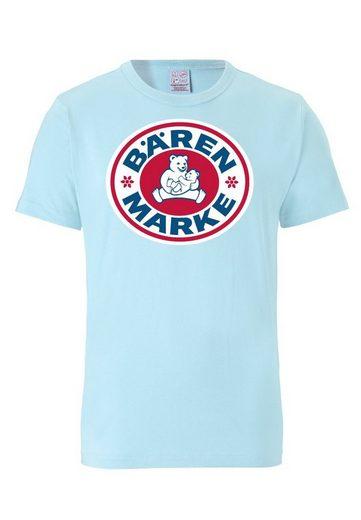 LOGOSHIRT T-Shirt mit Bärenmarke Milch-Logo