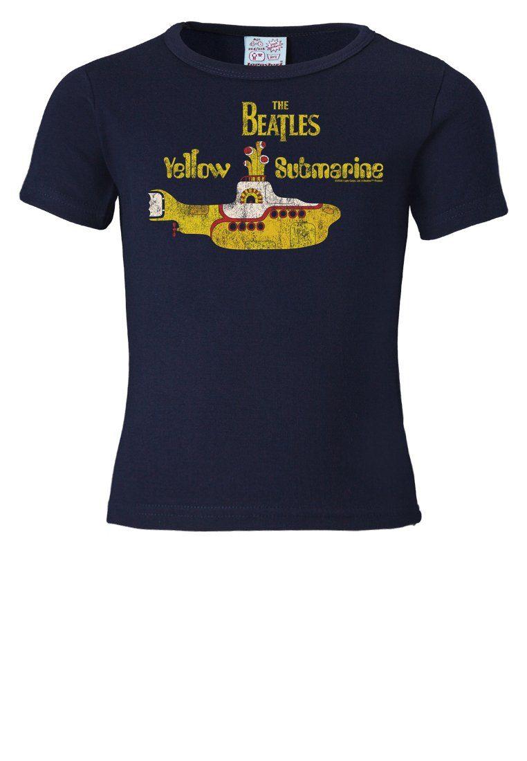 LOGOSHIRT T-Shirt mit Retro-Motiv »The Beatles Yellow Submarine«