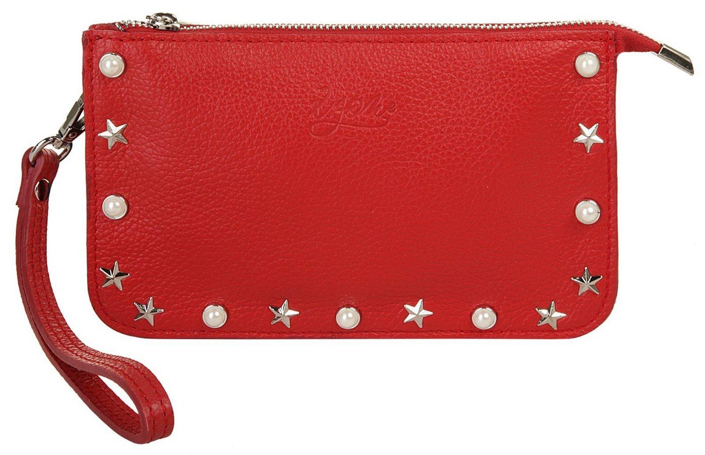 X-Zone Abendtasche, elastisch | Taschen > Handtaschen > Abendtaschen | Rot | Leder | X-Zone