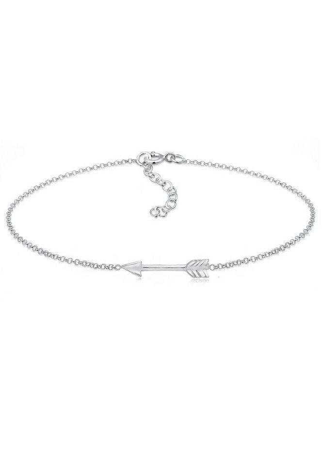 Elli Armband »Erbskette Pfeil Boho Look Festival Cool 925 Silber« | Schmuck > Armbänder > Silberarmbänder | Elli