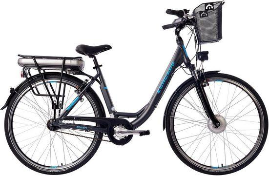 Zündapp E-Bike »Green 3.5«, 7 Gang Shimano, Nabenschaltung, Frontmotor