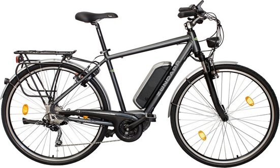 Zündapp E-Bike »Silver 5.5 Herren«, 10 Gang Shimano, Kettenschaltung, Mittelmotor