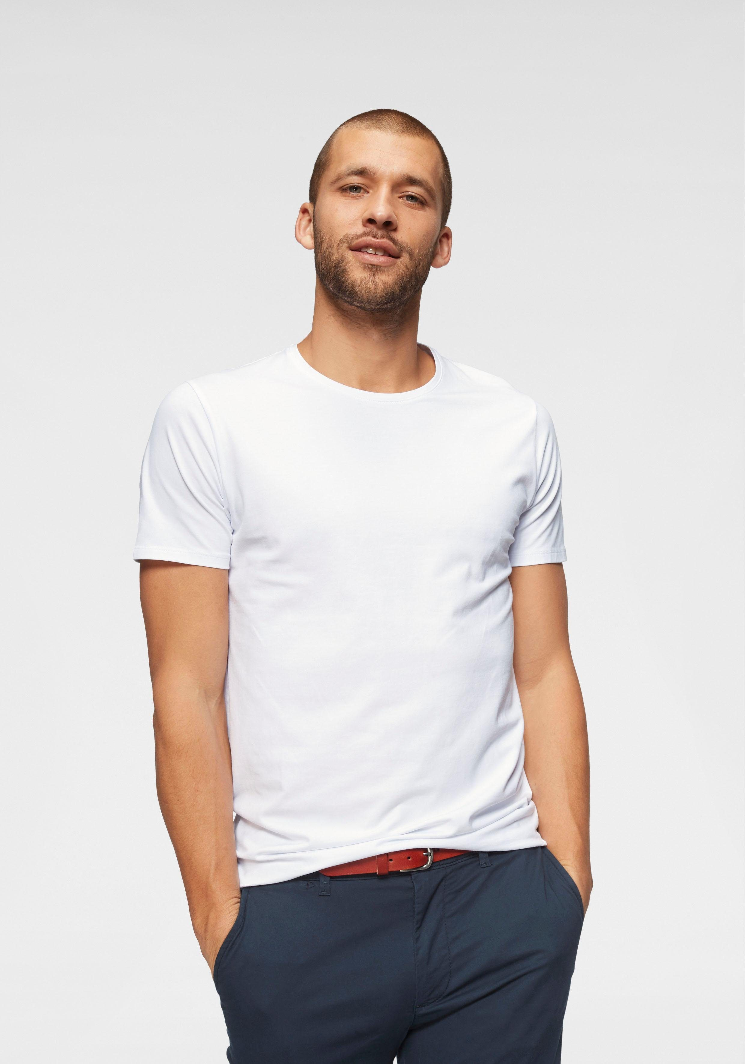 SELECTED HOMME T-Shirt »PIMA O-NECK TEE«