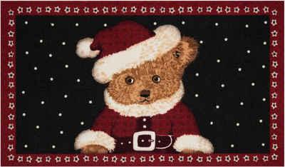 Fußmatte »Teddybear«, HANSE Home, rechteckig, Höhe 7 mm, Schmutzfangmatte, In- und Outdoor geeignet