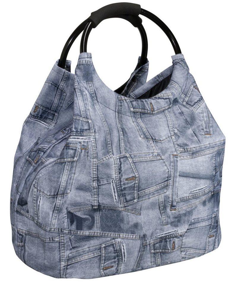 Damen HTI-Living Shopping- und Strandtasche Jeanslook  | 04260416040908
